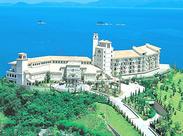 リゾートホテルで短期のお仕事♪ オーシャンビュー&ステキなお部屋で夏休みを満喫☆彡