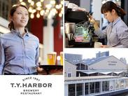 倉庫街をリノベーションした、運河沿の≪Restaurant&BAR≫です。