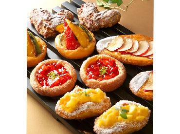 パンや焼き菓子を販売するパン専門店★人気商品がスタッフ価格でおトクに購入できるのもうれしい♪