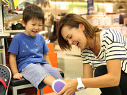 靴の知識や販売経験がなくても大丈夫!研修でしっかり基礎から学べるので安心です♪