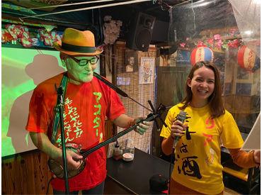 ライブの様子♪TV出演も★ 東京でライブを毎日開催しているのは ウチだけなんです!