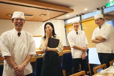 【寿司屋のホール】履歴書ナシでOK◎メニューは基本3コース⇒スグ覚えられる♪海外からのお客様もたくさん!ネタも自然と英語で覚えられちゃう★