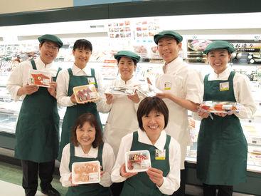 ≪生鮮コーナー≫ 商品の陳列や、鮮度の確認をお願いします◎