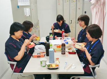 未経験から始めた方ばかりなので大丈夫(*^^*) 休憩時間にみんなでお菓子を食べるなど 職場の雰囲気ばつぐん♪*。