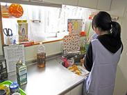 栄養士/調理師の資格があれば、誰でもスグに活躍できますよ♪資格なしの調理員の方も大歓迎です◎