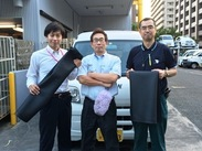法人さまへのマットの配達をお願いします!最低日給1万8000円の高待遇♪車は無料で貸し出し♪諸経費は一切かかりません!