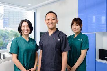 【歯科助手】-自由診療×完全予約=1人ひとりに向き合える-★キレイ&充実した設備の歯科で、しっかりスキルUP!自然とやる気もUP!