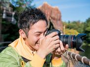 ≪週2~/土日祝のみOK≫ カメラが好き・興味がある方…皆さん大歓迎★一眼レフ貸出し&先輩のトレーニングで腕前UP!!