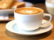 NEWスタッフ大募集★「コーヒーの知識がなくて不安…」という方も大丈夫!練習次第で、ラテアートだって出来るようになります★