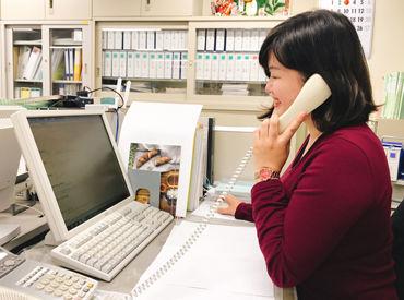 女性スタッフが活躍中の職場です◎ 子育てが落ち着いたから、仕事復帰したいという方もOKです!