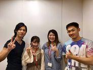☆働きながら自分磨き☆ 日本語、英語、韓国語などが飛び交うオフィス♪ 働きながら語学留学しちゃおう!