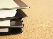 パソコンはあまり使いません!書類を開封して、仕分けて、スキャンして...慣れればサクサク進められるシンプルなお仕事です♪