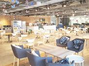 ≪渋谷駅直結≫昨年移転したばかり、マークシティ15Fの綺麗なオフィスです!頑張り次第で、幅広いお仕事にチャレンジも◎