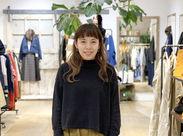 私が【AIDA general store くずはモール店】の店長です♪ 皆様にお会いできる日を、楽しみにしています*