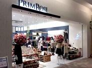 【モラージュ菖蒲内】ミセスに大人気♪スッキリとした大人スタイルが魅力の【プリムローズ】は、関東を中心に20店舗を展開★