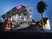 ≪車の場合≫東関東自動車道「千葉北IC」すぐのホテルです。