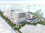 来年6月にリニューアル開院予定の東邦大学医療センター大橋病院!キレイな環境で気持ちよく働けます!
