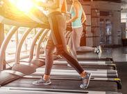 ≪施設利用0円≫お仕事終わりにトレーニングもできる♪働きながら、健康的な身体を手に入れましょう◎