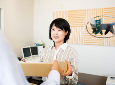 お仕事の手順は、先輩たちが優しく丁寧にお教えしますのでオフィスワークデビューの方も安心START! 広告No.068-2005-0158