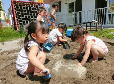 ≪函館市亀田港町≫車通勤OK!駐車場完備 子ども達が自由に遊べるよう、園内も広々した空間! 子ども達と楽しくふれあいましょう!