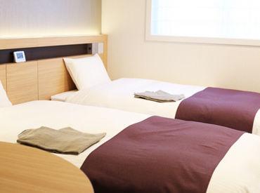 【清掃スタッフ】オープニングだから…★新しい綺麗なホテルで働ける!!★スタッフ同士がイチから一緒に働ける!![週1/4h~]柔軟シフトで勤務♪
