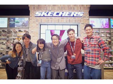 【販売Staff】LA発のグローバルブランド『SKECHERS』オシャレ~アウトドアまで大活躍☆憧れのSHOP店員になろう♪