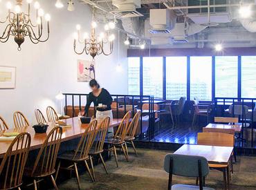 【カフェStaff】駅チカ♪LUMINE町田 9Fの和カフェ。≪週3日以上働ける方大歓迎!≫和食中心のまかない付♪ 幅広い世代が活躍中◎未経験もOK!