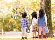 子どもたちの笑顔・笑い声が何よりのパワーです♪疲れを忘れちゃうくらい、楽しい素敵なお仕事!(画像はイメージ)