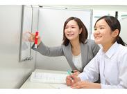 ≪働きやすさ◎≫教室の雰囲気はアットホームで、講師同士の仲のよさも自慢です♪何でも相談してください!
