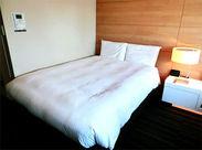 綺麗なビジネスホテルが多数!お客様に喜んでもらえるような空間を作るお仕事です*最初は既存スタッフと作業するので安心♪