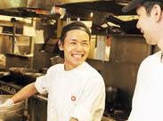 キッチンスタッフも同時募集!全然料理したことなかった!という方も活躍中☆未経験でもすぐに作れるようになりますよ◎