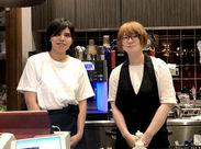 お客様からの評判もいい!シックでゆったりとした雰囲気の店内◆短時間から勤務OK!