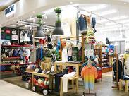 一人一人のアイデアを活かして、お店を作っています! アナタの個性に応じて、商品手配や売場作りをお任せすることも♪