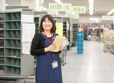 幅広い年代の男女活躍中です♪お友達との応募もOK! 長く働きたいなら、郵便局で決まり!