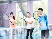 <未経験大歓迎>テニスを教えるのが初めての方も大歓迎♪未経験者が多数活躍中です!!
