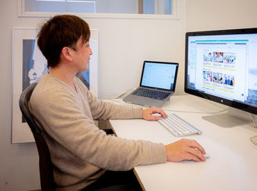 IllustratorやXDを使用したWEBデザインのお仕事! 残業時間も少なめ、お休みもしっかり! いずれは正社員になりたい方も* 副業OK!