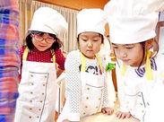 給食の配膳も協力し合って準備◎ 子どもだけでもできると信じ、時にはお手伝い☆ 子ども達のチャレンジを見守ってあげて下さい♪