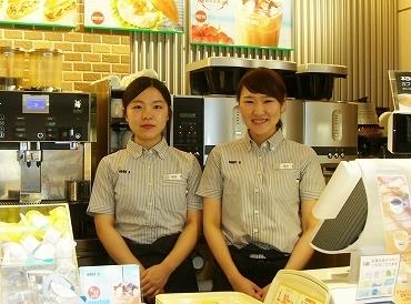 【カフェSTAFF】\大人気ドトールコーヒーで将来安定/未経験OK!!病院カフェはゆったり働けます♪【スタッフ割引あり】大人気メニューがお得☆