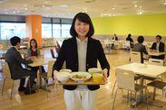 食堂は社割でなんと390円!毎日5食のメニューが日替わりで選べます!食堂・休憩スペースは無料WiFi♪休日にも利用できますよ!