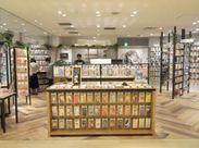 海外のお客様からも大人気のお店★ 英語や中国語のスキルも活かせます♪