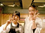 \東京駅直結♪/ #オシャレな丸ビル内6階★ #駅直結=バイト前後にどこにでも行きやすい! #雨の日だって余裕で出勤できます!