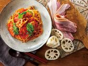 生麺で人気の鎌倉パスタが仙台パルコに3月New Open! 週2日~♪希望シフト制でシフトの融通◎ ランチの時間勤務できる方大歓迎♪