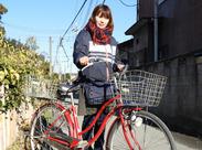 未経験歓迎!自転車やバイクでスイスイ集金◎お仕事に慣れるまでは、先輩がサポートします!