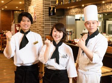 【キッチン】人気×綺麗なホテル内のレストランStaff調理経験者歓迎!正社員も目指せる◎週2、3日~!シフト融通◎扶養内OK♪20代活躍中★