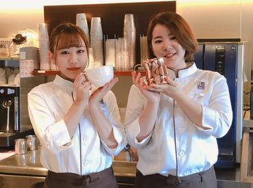本格派コーヒーをご提供! お客様はもちろんスタッフにとっても居心地のいい環境を用意して待っています♪