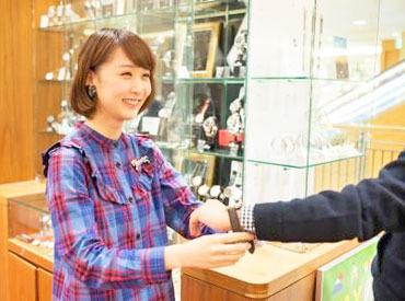 【Shopスタッフ】\★STAFF募集★/手首から始めるオシャレ♪お洋服をコーディネートするように、お客様に合った時計をご提案。:+*