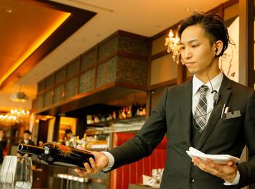 【レストランSTAFF】誰もが知っている、有名レストランで働きたい…その夢、今叶えませんか?【ボーナス年2回】【週休2日】など働きやすさも◎