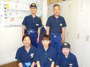 おなじみ!新宿伊勢丹の別館をお掃除♪お洒落な制服もお貸しするのでお掃除のやる気も上がります◎