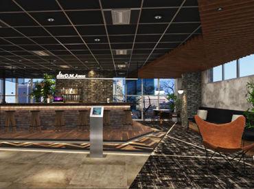 2021年2月11月から稼働の新オフィス!!! コールセンターと思えないオシャレな新オフィスで働けるチャンス♪♪