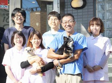 主に猫ちゃんがお客様!優しい雰囲気の動物病院です♪資格を生かして《週2~》働けます!シフト相談なども柔軟です!